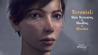 Blender Skin Texturing and Shading tutorial