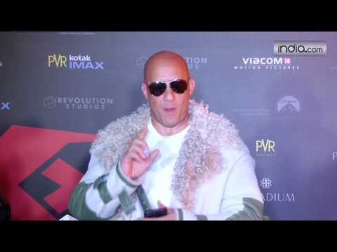 Vin Diesel at premiere of film XXX : Return of Xander Cage