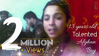 Afghan Boy singing in hotel 1st 4u by Torialai Waziry