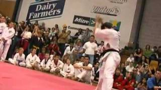 Bren Foster [Extreme Weapons] Taekwondo show