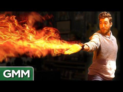 Mini Flamethrower Demo Real Avatar Firebending