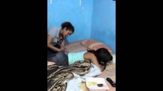Injection On The Side Girl Funny Video