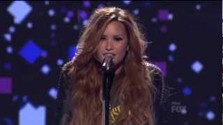 Demi Lovato 'Give Your Heart a Break' Live on American Idol