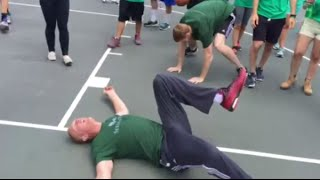 Ultimate Showdown: Brian Scalabrine vs Matt Bonner - White Mamba vs Red Mamba! (Knockout)