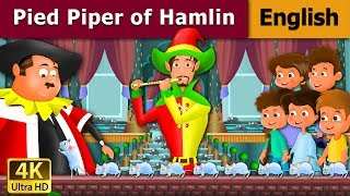 Pied Piper Of Hamelin in English - Bedtime Story For Children - Kids Stories - English Fairy Tales