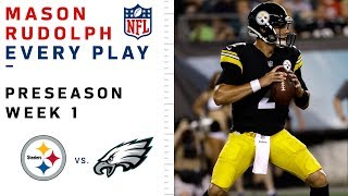 Every Mason Rudolph Play in NFL Debut vs. Eagles