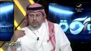 الأمير عبدالله بن مساعد يتأثر على الهواء