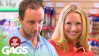 Sexy Seducing Cashier - Just For Laughs Gags