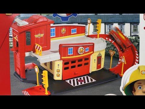 Fireman Sam Strażak Sam Dickie Toys Odwiedź Remizę Strażacką Strażaka Sama 203099623