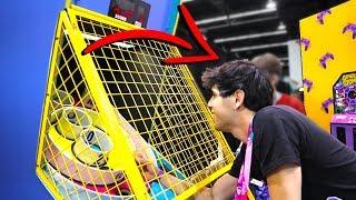 Idiot Cheats at Arcade SkeeBall