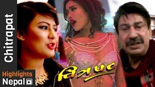 CHITRAPAT Ep. 11   Report about Nepali Movie Piracy, PARVA, Dhurmush & Suntali by Prakash Subedi