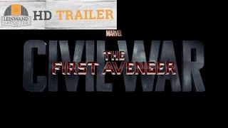 THE FIRST AVENGER CIVIL WAR HD Trailer 1080p german/deutsch