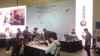 Singapore National Barista Championship 2017 (Dayat from Latorre N Dutch)