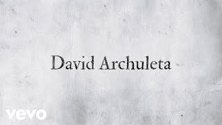 David Archuleta - Invincible (Official Lyric Video)