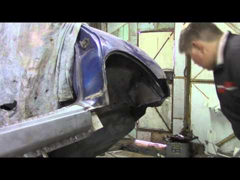 Как раскатать арки на ваз 2110