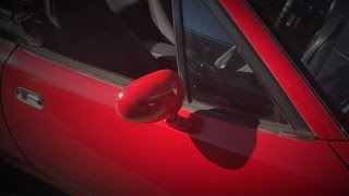 project 1990 Mazda Miata [part three] PAINTED PARTS!