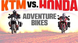 2017 Honda Africa Twin vs. KTM 1090 Adventure R