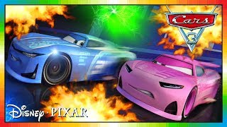 Cars 3 Driven to Win - gameplay - Cam Spinner Vs Rich Mixon