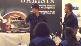 Singapore National Barista Championship  clip6