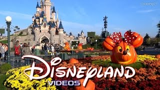 Decorations d'Halloween 2014 - Disneyland Paris HD