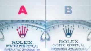 Rolex Daytona Fake vs Real - Official Rolex Video.