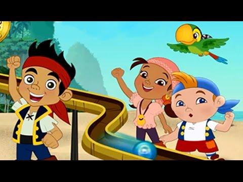Jake y los Piratas de Nunca Jamas ►Carrera de Canicas