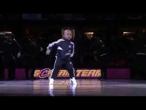 Xxx Mp4 5YO Kid Tavaris Jones Dances At Basketball Game Cleveland Cavaliers 3gp Sex
