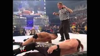 Vengeance 2001  Chris Jericho vs The Rock & Steve Austin WWF Undisputed Champion