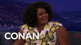 Nicole Byer Has A Lot Of Saucy Tattoos  - CONAN on TBS