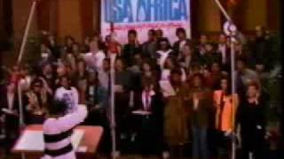 We Are The World USA for Africa w/ all the singer's name (Arrange and Edit by Rommel F. Juaton)