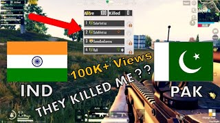 PUBG MOBILE INDIA AND PAKISTAN RANDOM GAMEPLAY | INDIA VS PAKISTAN MATCH | IND VS PAK