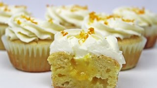 Orange Cupcakes with Cream Cheese Frosting | Orange Creamsicle Cupcakes Recipe