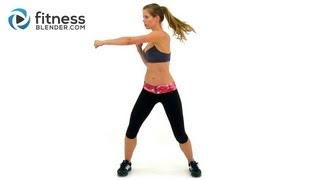 Kelli's Cardio Kickboxing Workout - Max Calorie Burn Workout with no Equipment