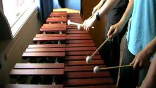 Zelda Ocarina of Time - Saria's Song on Marimba