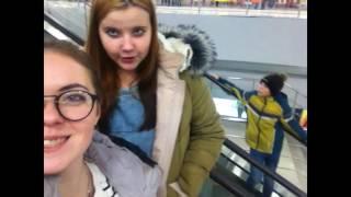 Открытие НОВОМОСКОВСКОГО ТРК часть 2, прогулка с Олей( Анна Рудковская)