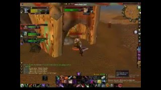 World of Warcraft X Roads Raid and Duel Killing Bladefist