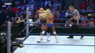 WWE Smackdown Natalya vs Kelly Kelly