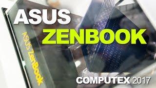 The ASUS Zenbook – Pretty Macbook Killers on Display at Computex 2017