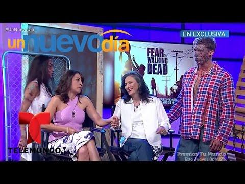 """Xxx Mp4 Patricia Reyes Y Elizabeth Rodríguez Hablan De """"Fear The Walking Dead"""" Un Nuevo Día Telemundo 3gp Sex"""