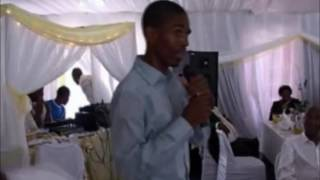 Simphiwe Shembe comedy section in a Wedding