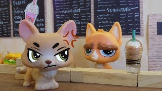 LPS: Coffee Shop DISASTER! ☕ Littlest Pet Shop Funny Skit