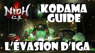NIOH : Kodama Location Guide - L'évasion d'Iga (Mission 9 - The Iga escape) | PS4 DraphHD
