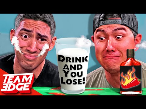 You Drink You LOSE Extreme SPICY Challenge 🌶