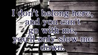 Tom Waits - If I Have To Go (Lyrics On Screen)