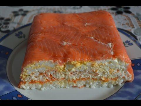 Салат из красной рыбы рецепт с очень вкусный