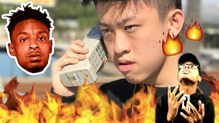 Didn't Expect This!   Rich Chigga FT. 21 Savage - Crisis   Reaction