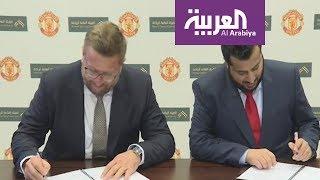 تركي آل الشيخ يوقع اتفاقية مانشستر يونايتد