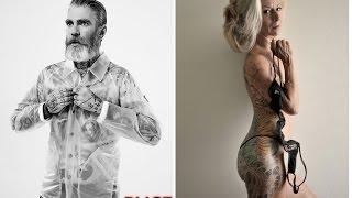 """""""idosos"""" tatuados que provam que uma tatuagem pode ser bonita para sempre"""