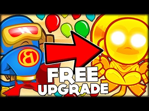 EACH SUB TROLL GET A FREE UPGRADE ON EACH ROUND CHALLENGE BLOONS TD 5 Bloons Tower Defense 5