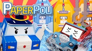 06.The worst nightmare, Jin's invention?!    Paper POLI [PETOZ]   Robocar Poli Special